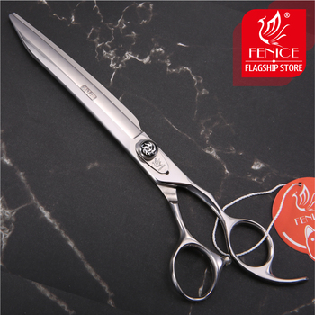 Fenice New design 7.5/8/8.5 inch high quality Professional for Pet Grooming dog cutting straight scissor