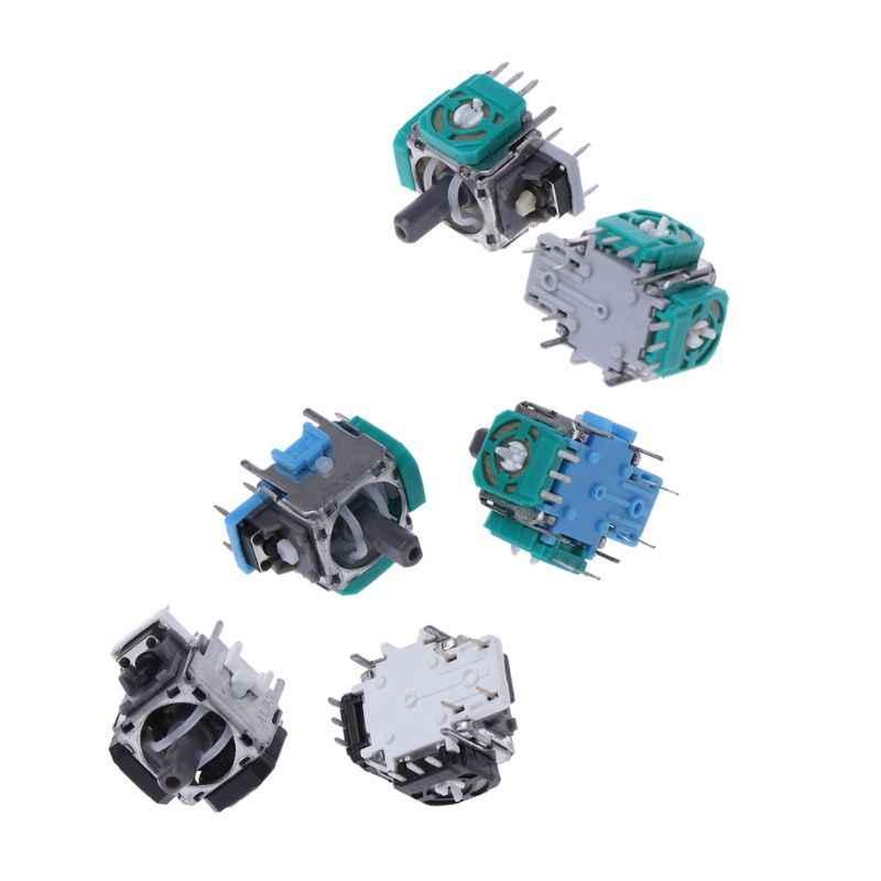 2 قطعة عصا تحكم تناظرية ثلاثية الأبعاد الجهد التناظرية محور جويستيك الاستشعار وحدة لإصلاح بلاي ستايتش4 PS4 Contoller