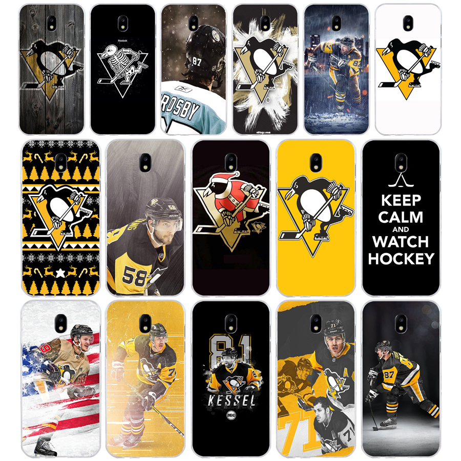80SD High Quality Pittsburgh Penguin Soft Silicone Tpu