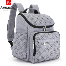 AimaBaby Mummy Maternity Diaper Bag Large Nursing Bag Travel Backpack Designer Stroller Baby Bag Baby Care Nappy Backpack цены