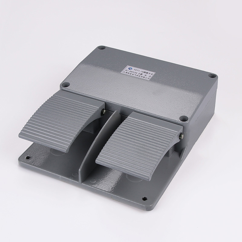 YDT1-16 Foot Switch Pedal Foot Control Switch 250V 380V 6A double pedal use for bending machine punch цены онлайн