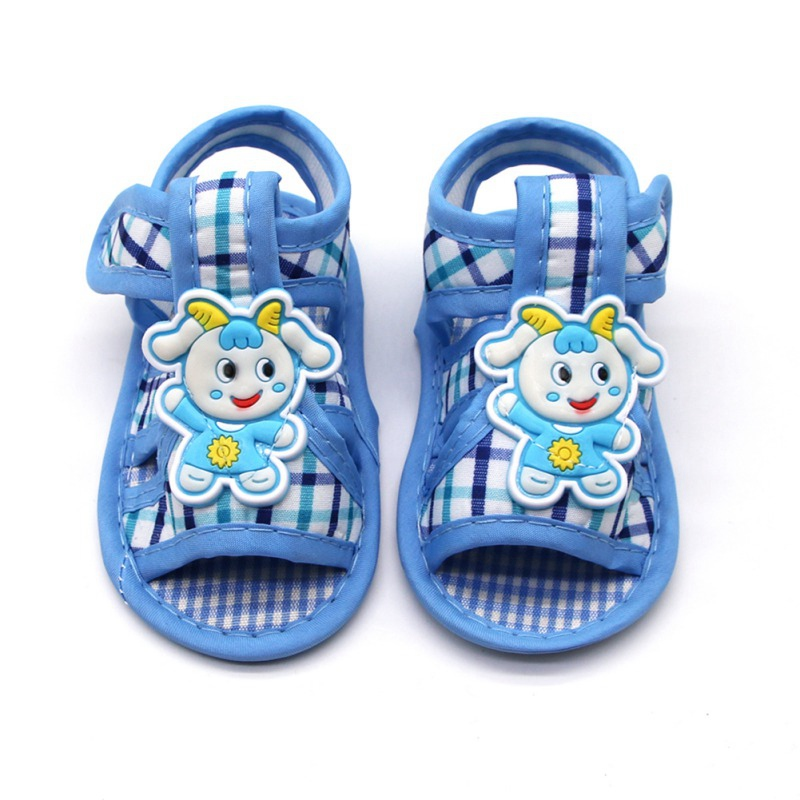Baby Sandal Summer Newborn Toddler Boy Girl Cartoon Animal Sandals Soft Sole Outdoor Shoes