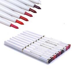 1 шт. автоматический вращающийся карандаш для губ, долговечный натуральный сексуальный женский водонепроницаемый карандаш для губ, космети...