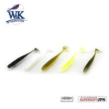 W&K Brand Soft Lure 9cm 10pcs/bag River Fishing Artificial Pesca Feeder Striper Bass Pollock Surprise #J1603-090