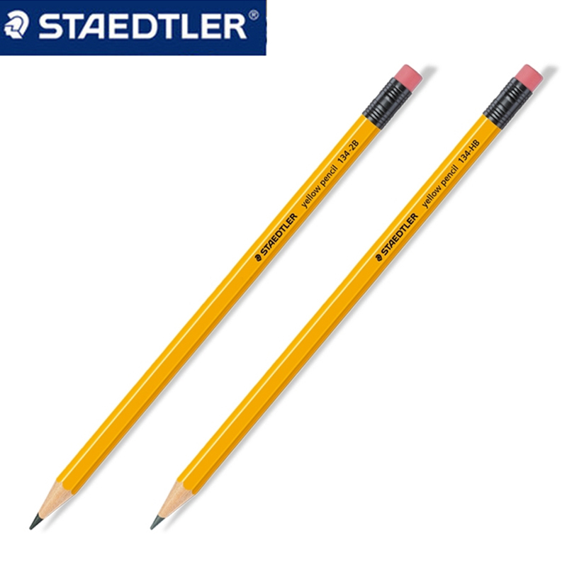 Box 12 Pencil HB Graphite Pencils With Eraser Rainbow HB Bleistift