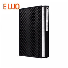 405*240 mm activated carbon collect dust hepa filter deodorant filter of air purifier parts for F-VXH50C F-PXH55C etc цена и фото