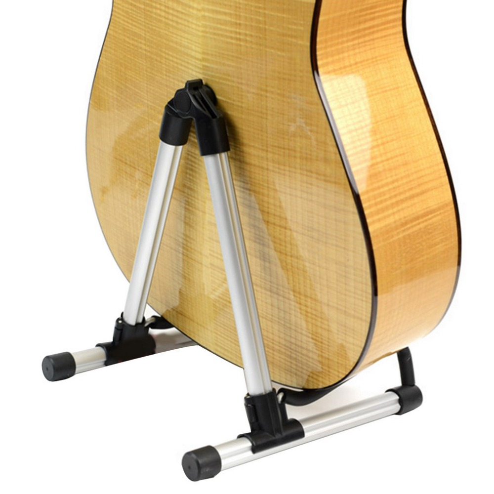 Universal Folding A-Frame use for Acoustic Electric Guitars Floor Stand Holder Drop Shipping Support Russian Local Delivery sews aroma ags 03 stand a frame holder bracket for all sizes of guitars basses stringed instrument universal