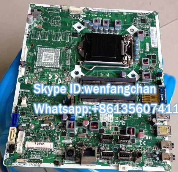 Frete grátis Original Pro All-in-One 3520 PC IPISB-AB H61 Motherboard 703643-001 703643-501 703643-601 697523-001 739591-001