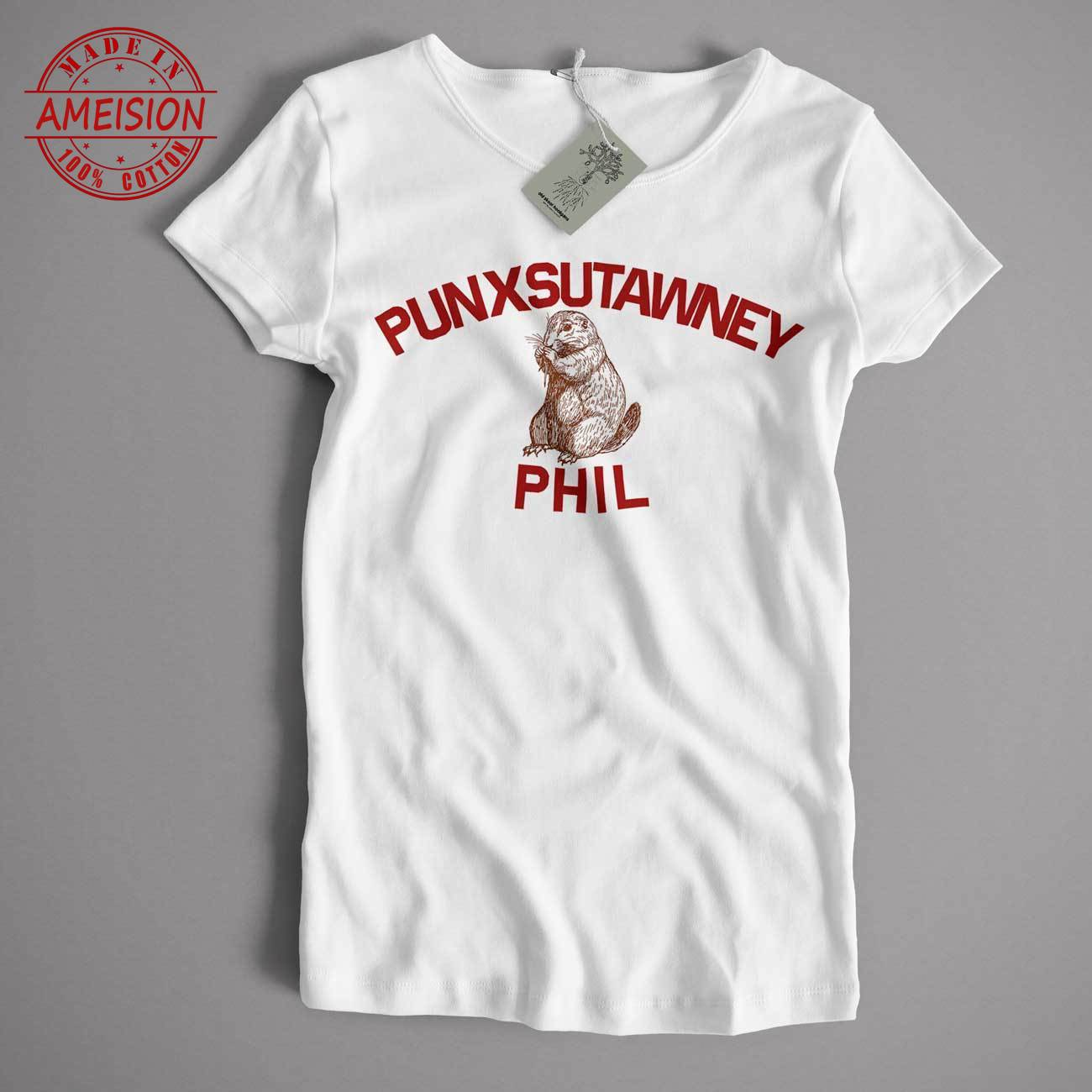 As Worn In Groundhog Day T Shirt - Punxsutawney Phil Cult Movie Comedy T Shirt