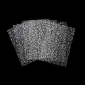 Image 2 - 6pcs בישול מרקם גיליון סט קוקי מרקם מחצלת סוכר קרפט קישוט אפיית כלים פונדנט עוגת עובש שקוף מרקם