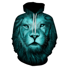 2017 new Lion King Printed Hoodies Men Women 3D Novelty Sweatshirts Fashion Pullover Novelty Hooded Streetwear Autumn Hoodies