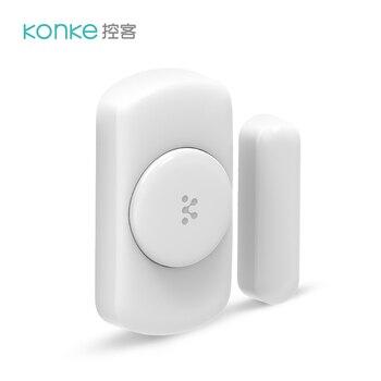 Eliges Konke de ventana de puerta de casa inteligente Zigbee función de Control remoto de alarma Sensor de puerta de seguridad de la puerta ventana para xiaomi teléfono