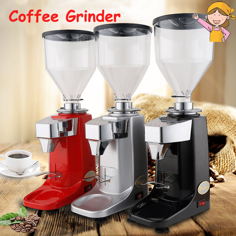 Commercial Coffee Grinder Household Electric Italian Quantitative Grinding Machine 220V/250W Professional Coffee Machine SD-921L mdj d4072 professional commercial household coffee grinder high quality electric coffee machine advanced grinding 220v 150w 30g page 7