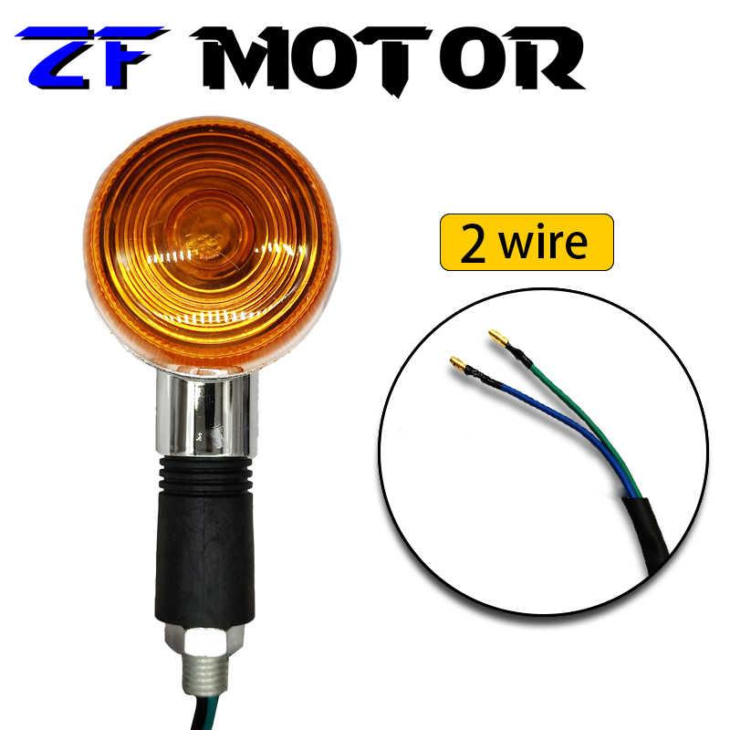 Lámpara de dirección de luces de giro de motocicleta de alta calidad para Suzuki GSF250 400 74A 75A 77A