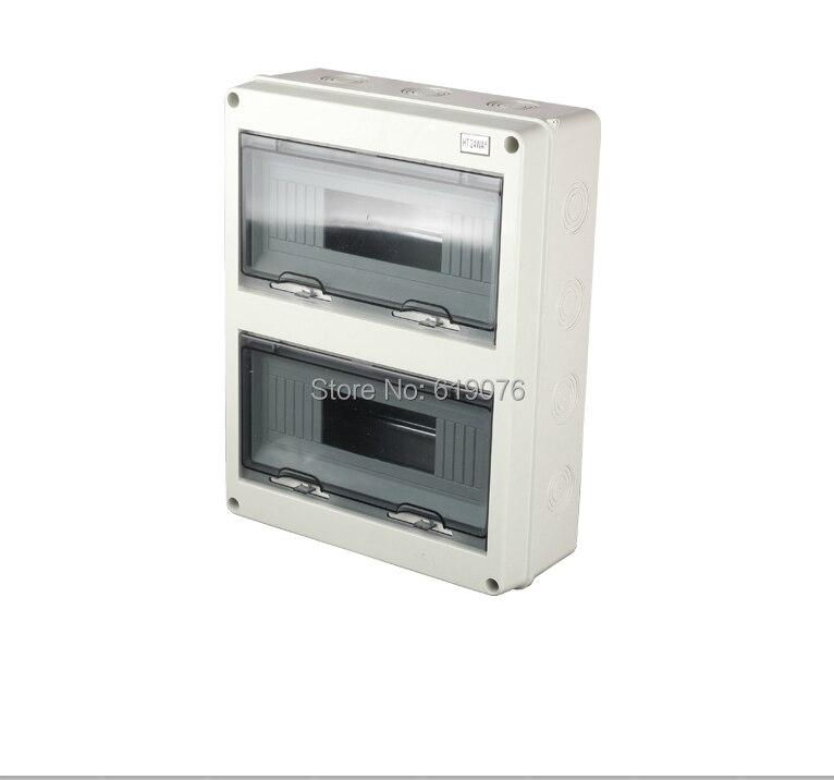 HT-24WAY 360*280*110 Waterproof Power Distribution Box Home switch box saipwell most popular ip65 ht 5 ways waterproof electrical distribution box 150 110 90mm