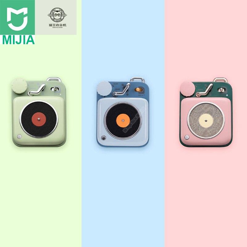 In Staat Xiaomi Mijia Cat Koning Atomic Platenspeler B612 Bluetooth Intelligente Audio Draagbare Zink Aluminium Shell Speaker Muziek