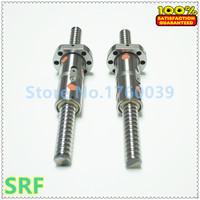 25mm Linear Rolled Guide Ballscrew RM2505 Rolled ballscrew L=614.1mm/531.6mm/641.6mm with DFU2505 ball nut with end machined