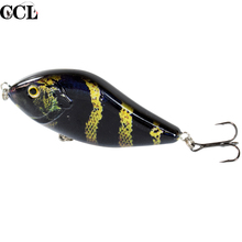 Perfect Design Salmon Slider Jerkbait Fishing Isca Articial Baits 10cm 45g Crankbaits Tackle