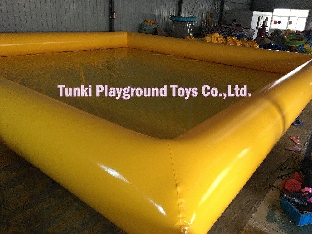 8x8x0.5 м надувной бассейн для игр на воде