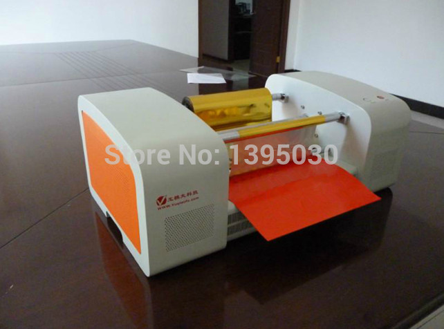 Hot Foil Stamping Machine Digital Hot Stamping Machine Gilding Flatbed Printer Foil Stamping Press Machine TJ-256