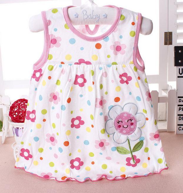 b714a1994954 2019 Baby Girl Dress 2017 Summer Girls Dresses Style Infantile Dress ...