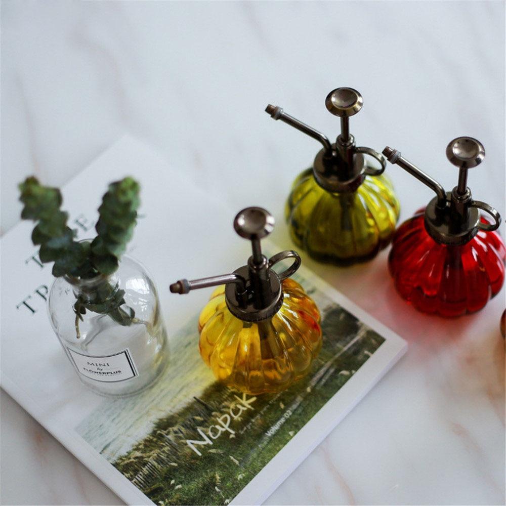 Retro Nordic Chic Glass Colorful Storage Jar Bottle Scandinavian European Desk Storage Bottle Organizer Flower Container Decor