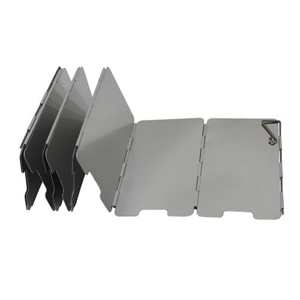 Foldable Gas Stove Windshield 2