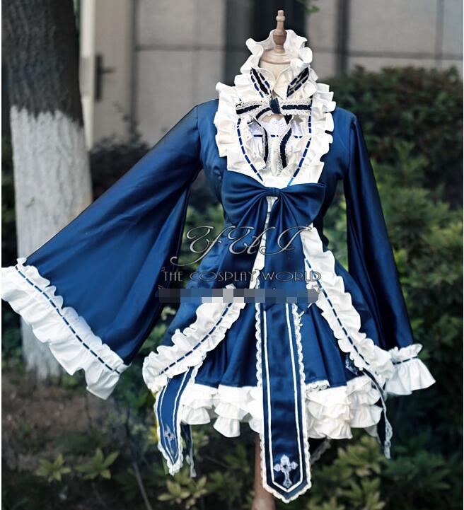 Death Note Misa Amane MisaMisa OST костюм косплей костюм для косплея «лолита» Платье женское платье