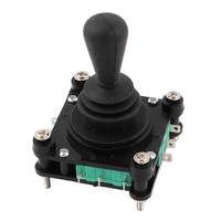 THGS AC 240V 5A 4NO 4NC Momentary 2 5mm Fixing Thread Joystick Switch
