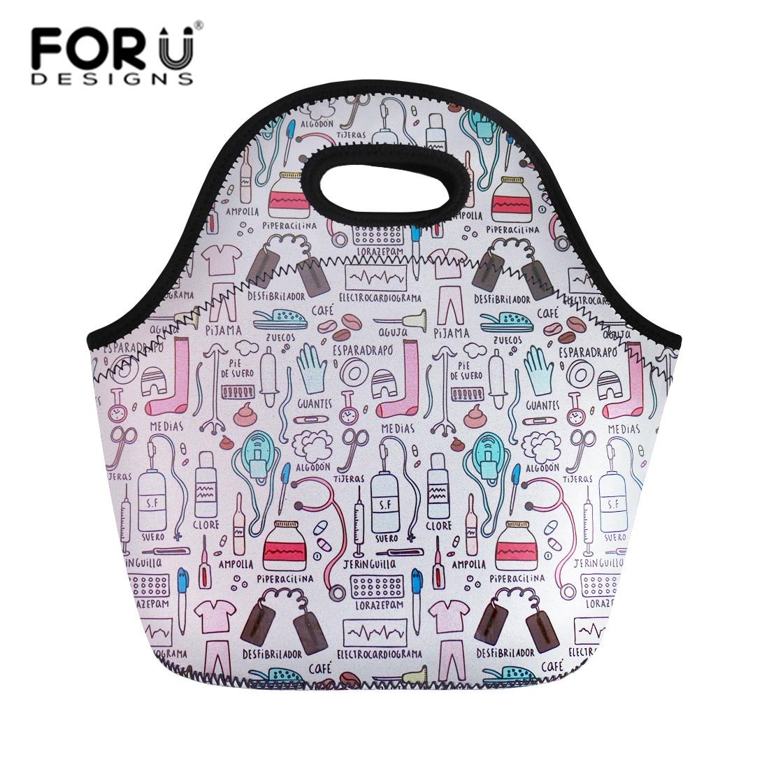 Forudesigns Lunch Bags Nurse Doctor