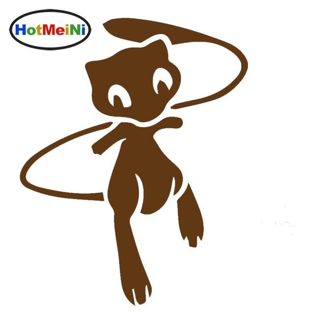 HotMeiNi Kinder Liebe Comic figuren Pokemon Mew Auto Aufkleber für ...