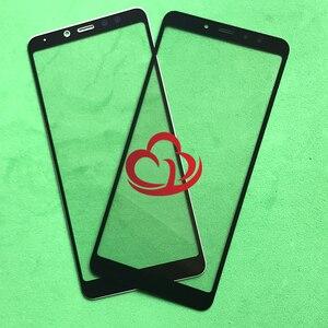 Image 2 - 10 stücke Ersatz LCD Vordere Touchscreen Glas Äußere Linse Für xiaomi Redmi 5 Redmi5/Redmi 5 Plus Redmi5 plus