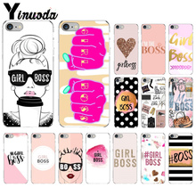 Yinuoda VOGUE Christmas Princess Girl Female boss Soft Shell Phone Cover for Apple iPhone 8 7 6 6S Plus X XS MAX 5 5S SE XR