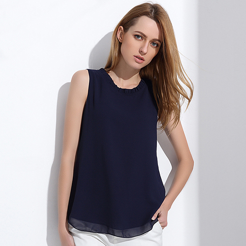 #Shirt #Women #Summer #Chiffon #Tops Sleeveless #Blouses #fashion #grl #boygrl #girl
