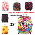 Size XL Apply to 26~30 Inch Cases for Suitcase Cover Protector Trunk Excellent Elastic Beautiful Pattern Travel protective cover
