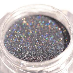 Image 5 - Laser Nail Glitter Powder Ultra thin Shining Pink Blue Grey Glitters  Used With UV Gel Polish