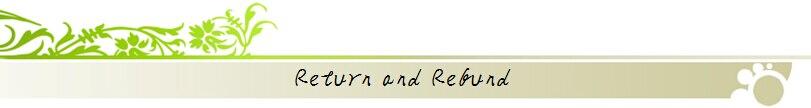 return & refund