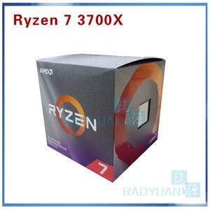 Image 2 - AMD Ryzen 7 3700X R7 3700X3.6 GHz 7NM L3 = 32M 100 000000071 8 Core 16 חוט Socket AM4 עם cooler קירור מאוורר