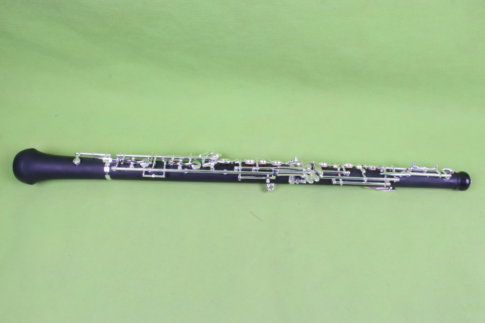 Professional advanced oboe C key semiautomatic  ebony wood oboe 2# c p smith on playing oboe recorder flage paper only