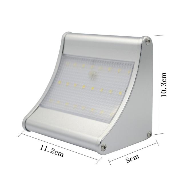 Waterproof 24 LED Solar PIR Motion Sensor Light Outdoor Garden Light Solar Emergency Wall Solar Lamp 4 Modes