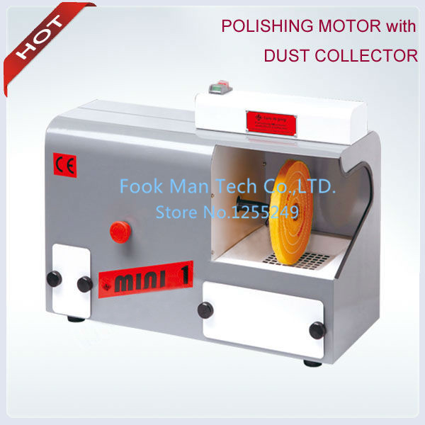 Polishing Machine with Dust Collector,Bench Lathe Motor,Wholesale Buffing Motor,2pc Buff or 2pc 78mm Brush Free