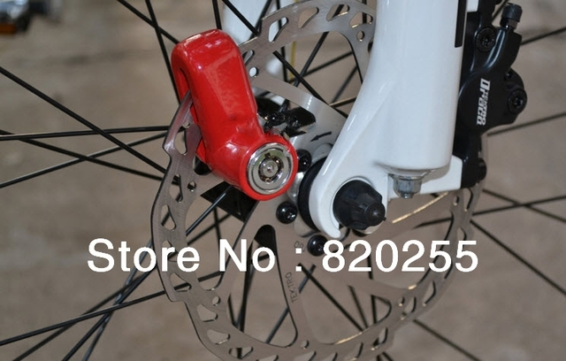 Bicycle Lock-Wholesale 3 colors Scooter Bike Bicycle Motorcycle Safety Anti-theft Disk Disc Brake Rotor Lock[0002033]