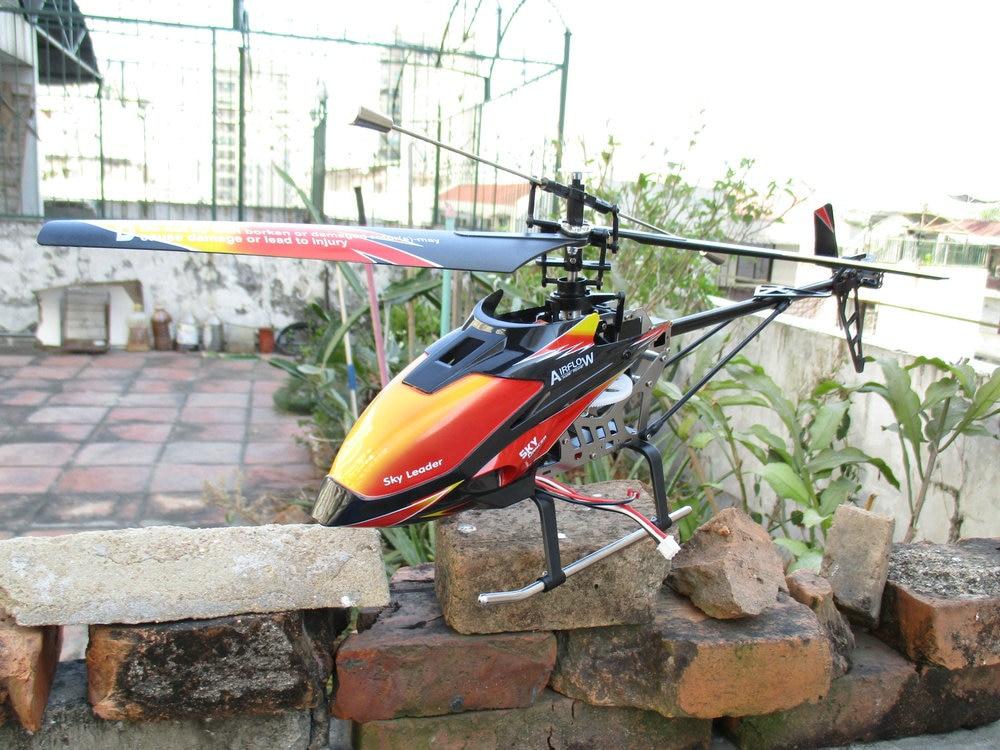 WL toys V913 Sky Dancer 4 канала FP вертолет 2,4 ГГц w/Встроенный гироскоп v913 игрушки rc модель вертолета Бесплатная доставка - 5