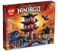 2150 unids 2016 LEPIN 06022 Juego Ninja Templo de Airjitzu Lloyd Ninja Ladrillos de Construcción Bloques Juguetes