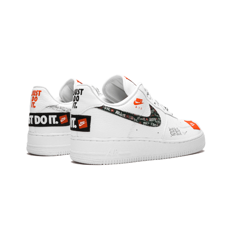 nike air force 1 just do it orange pas cher