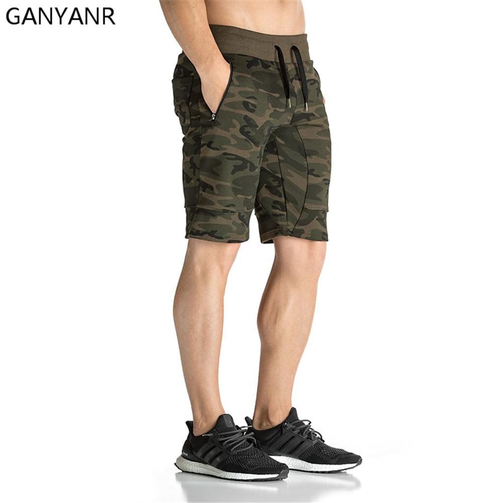 GANYANR Running Shorts Men Gym Basketball Sport Athletic Leggings Fitness Boxer Soccer Marathon Tennis Crossfit Volleyball Gay in Running Shorts from Sports Entertainment