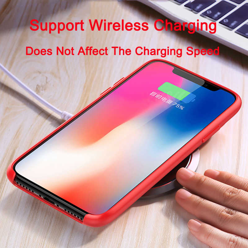 Silicone Case For iPhone 7 8 6 6s Plus Case For iPhone X XS 11 Pro Max XR Shockproof Armor Phone Case Cover With Retail Box