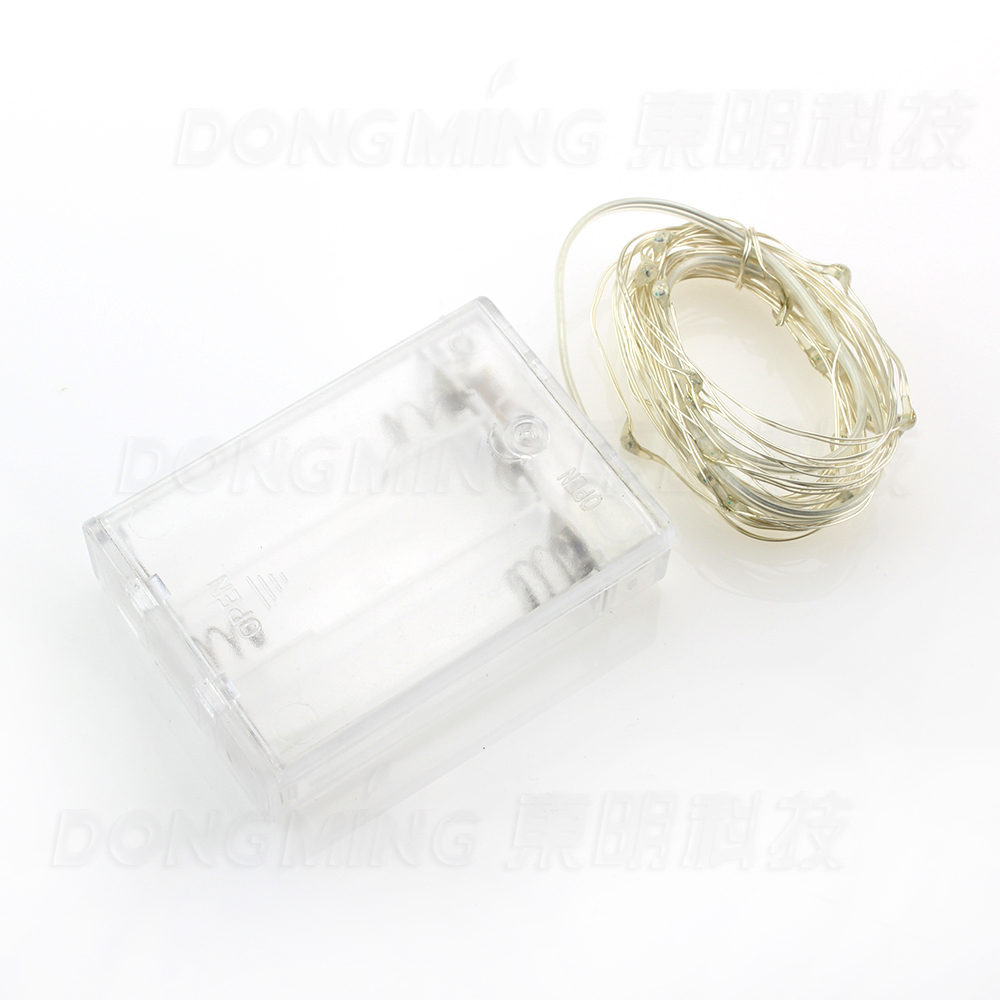 Battery Operated led string Lights 5pcs/lot 2m 20leds 3*AA Waterproof led Christmas lights wedding decoration