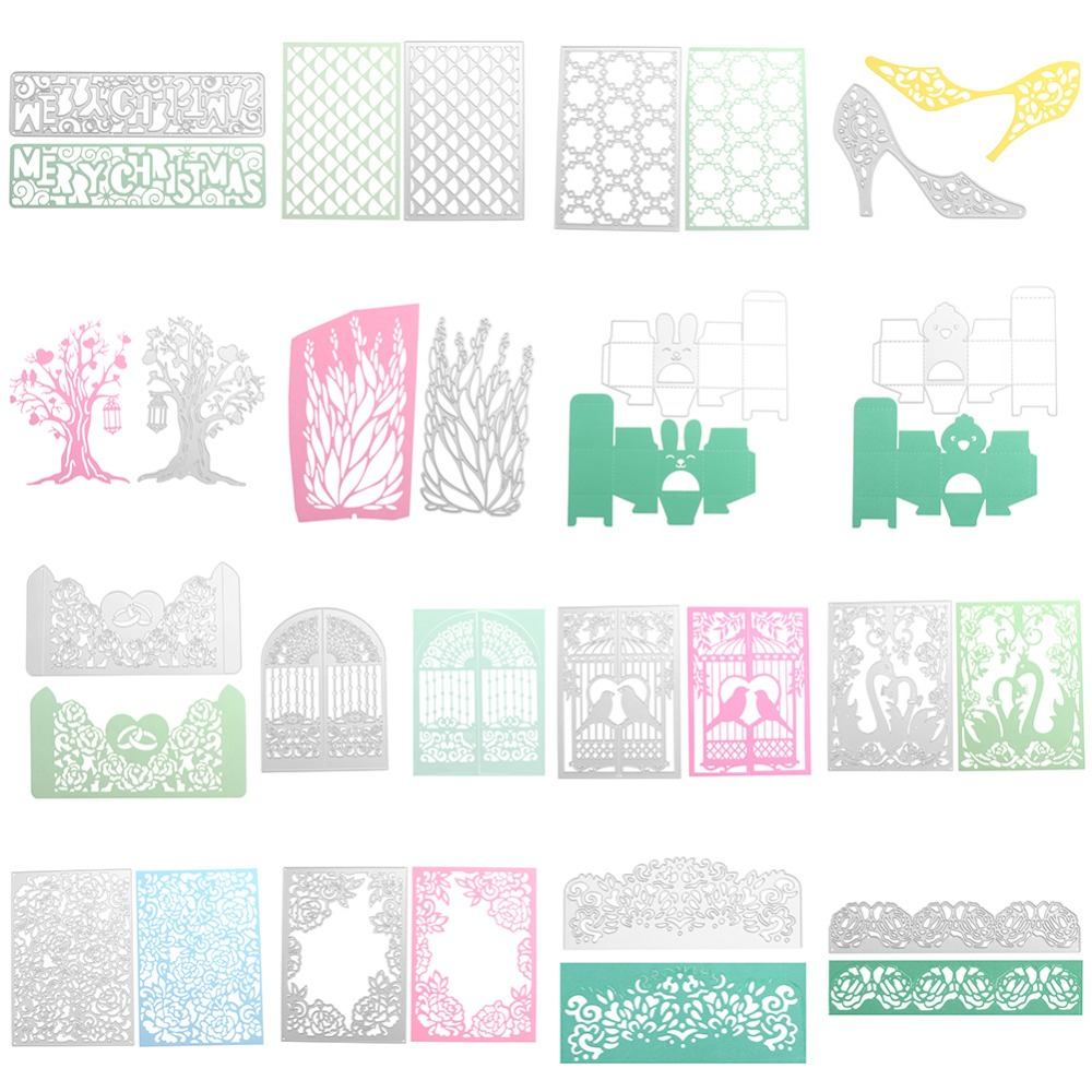 Candy box Cutting Dies Scrapbooking Embossing Card Making Paper Craft Die XS PL