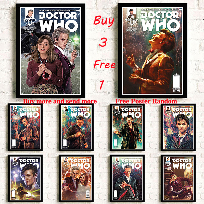 Doctor Who Movie Coated Paper Poster And Prints Wall Art Decortive Painting For Living Room Decoration Frameless